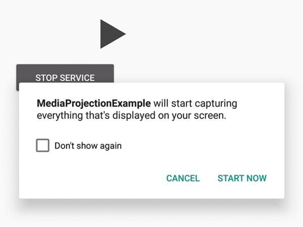 Il est aisé de détourner MediaProjection sur Android.