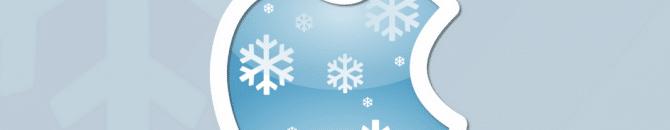 L'iPhone X craint l'hiver.