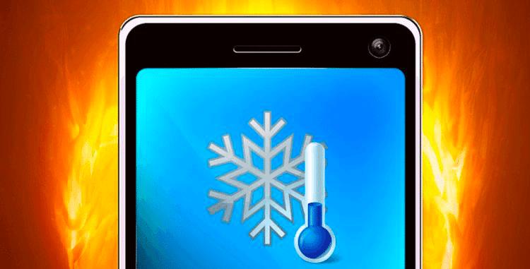 Le problème de la température des smartphones Samsung.