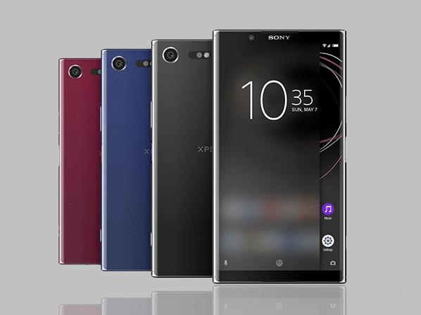 Les Sony Xperia ont toujours proposé des bordures à côté des écrans.