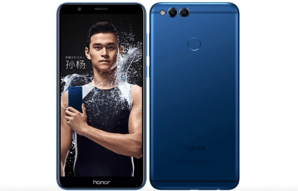 Un autre portable de Huawei, le Honor 7X.