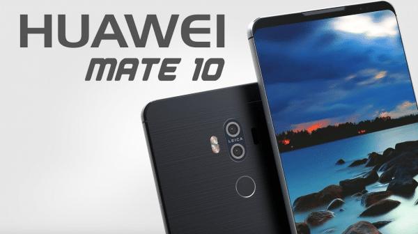 Le Mate 10 Pro est le smartphone haut de gamme.