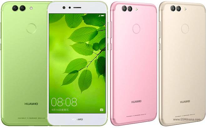 Le Huawei Nova 2 Plus, ancien téléphone moyenne gamme chez Huawei.
