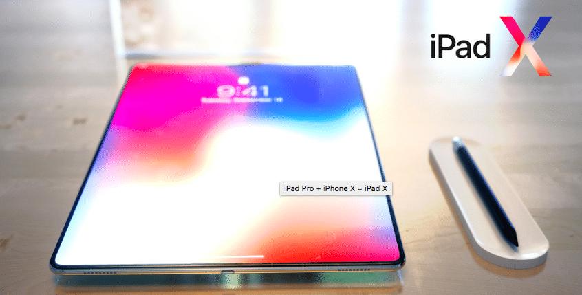 Finesse et design pour l'iPad X