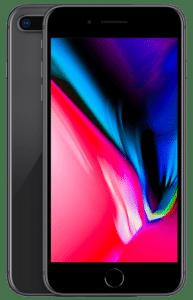 iPhone 8 Plus – Noir (Gris sidéral) 64 Go