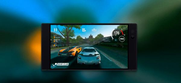Un exemple de jeu sur Razer Phone.