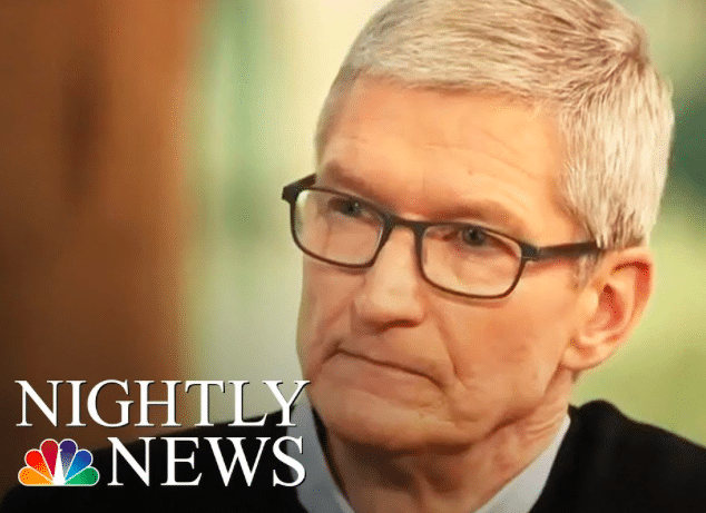 Tim Cook NBC NEWS