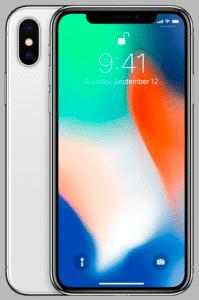 iPhone X – Argent (Blanc) 64 Go