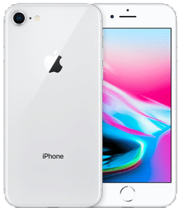 iPhone 8 – Argent (Blanc) 64 Go