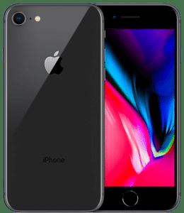 iPhone 8 – Noir (Gris sidéral) 64 Go