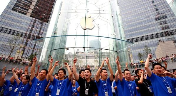 Les employés chinois d'Apple.