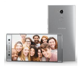 Les Sony Xperia XA2 et XA2 Ultra sont dotés d'un dos bombé