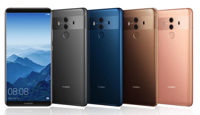 Le Huawei Mate 10 Pro connaît un grand succès en dehors des frontières de la Chine.