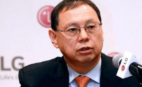Le vice-président de LG, Cho Sung-jin.
