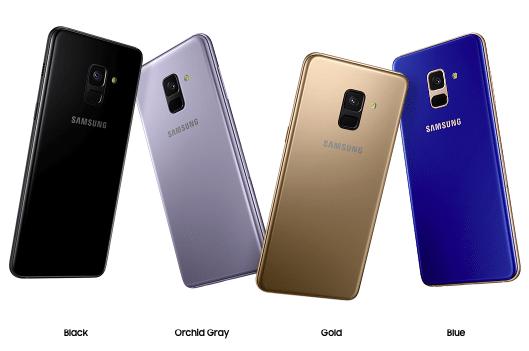 Quel prix pour les Samsung Galaxy A8 ?