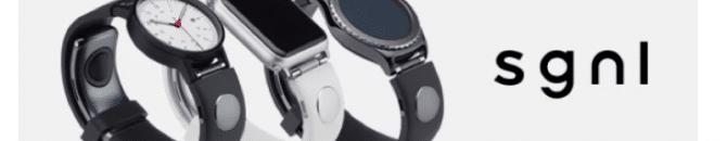La montre connectée Sgnl permet de passer des appels du bout des doigts