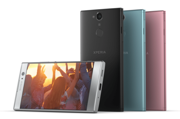Le Xperia XA2 de Sony présenté au CES 2018