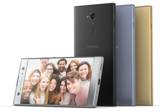 Le Xperia XA2 Ultra de Sony présenté au CES 2018