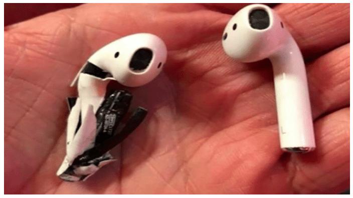 Apple mène l'enquête sur l'AirPod qui aurait explosé en Floride.