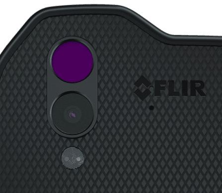 La caméra thermique FLIR du Caterpillar CAT S61.