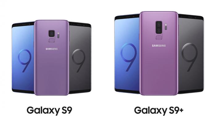 Samsung présente les Galaxy S9 et S9+.