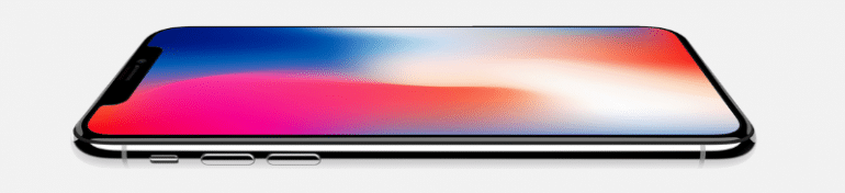 Le fameux iPhone X d'Apple fait encore parler de lui.