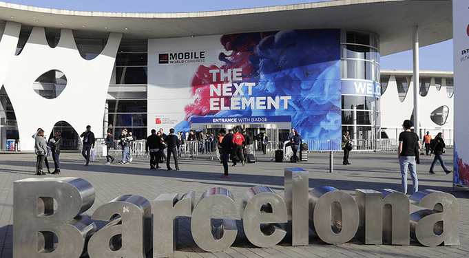 Le Mobile World Congress 2018 de Barcelone, ou MWC.