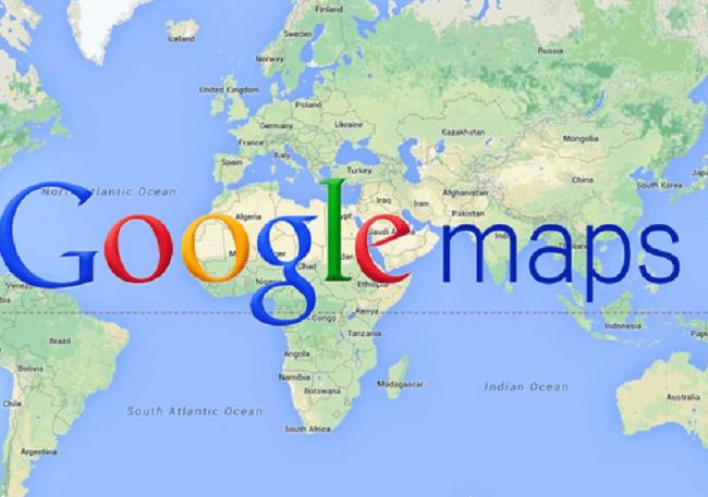 Google Maps géolocalisation