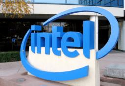 Logo Intel en 3D