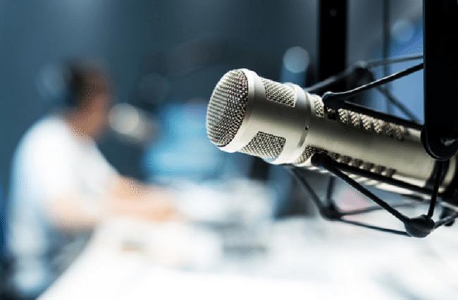 micro de radio pour Google Podcast