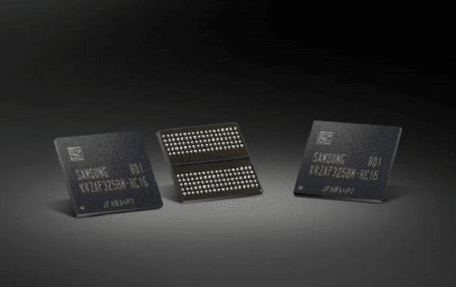 Puces électroniques Samsung