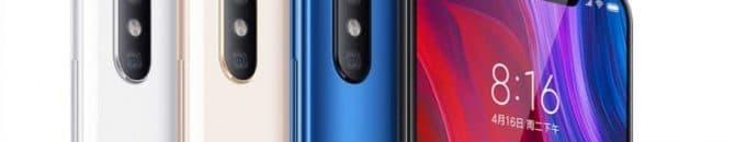 Esthétiquement, le Xiaomi Mi 8 ressemble beaucoup à l'iPhone X.