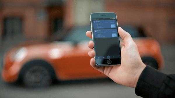 clé voiture via smartphone développement plus aisé grâce à consortium.