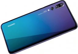 Huawei P20 face arrère.