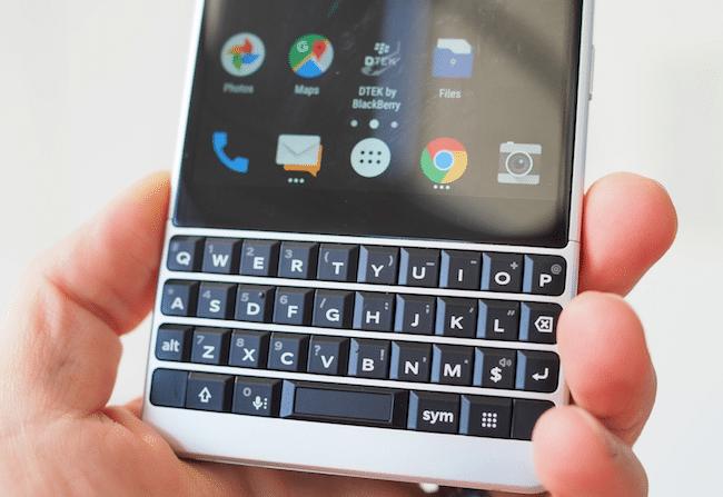 Bouton Speed Key nouveauté Blackberry KEY2