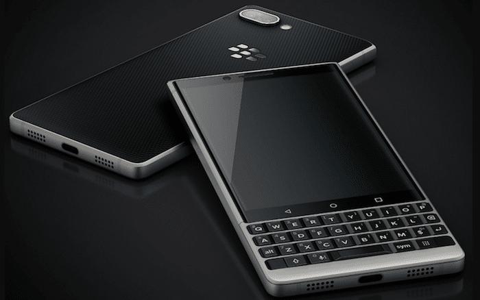 Vrai clavier physique et beau design pour le KEY2 de Blackberry.