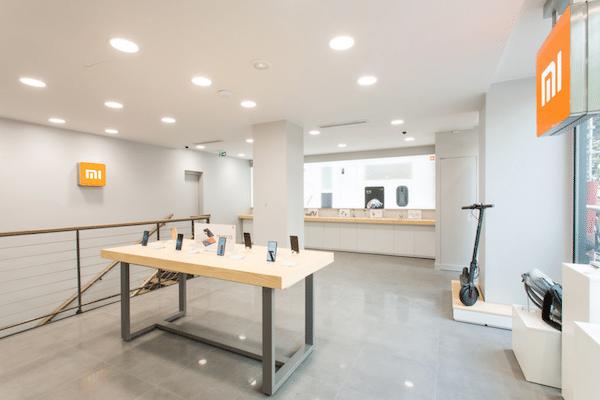 Xiaomi veut s'étendre ouverture Mi store Paris.
