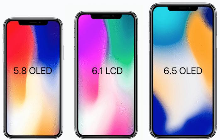 Apple Iphone X 3 modèles moins chers pour 2018.