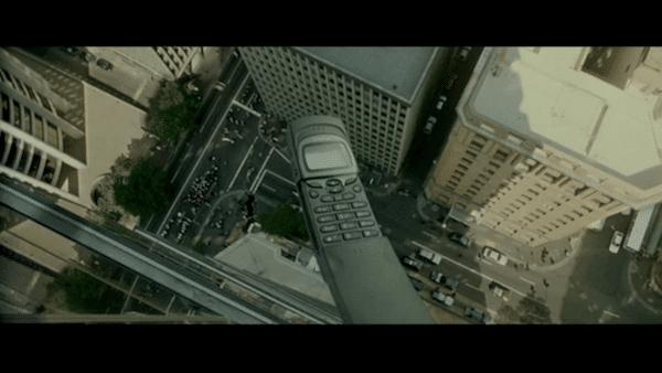 Nokia 8110 dans Matrix 1999.
