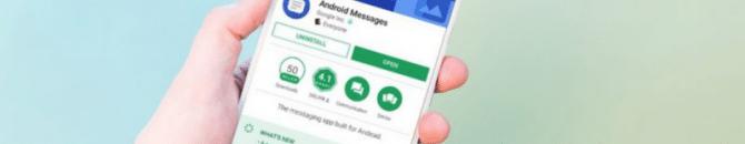 Android Messages mise à jour client web et nouveautés.