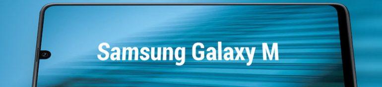 Le Samsung Galaxy M20.