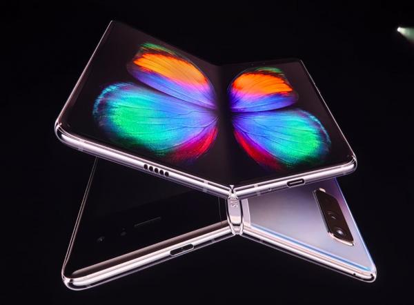 le nouveau Galaxy Fold présenté par Samsung lors de l'évènement Galaxy Unpacked 2019