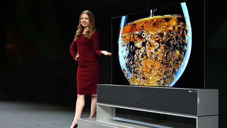 Malgré la présentation de son écran enroulable, LG ne souhaite pas inaugurer de smartphone pliable