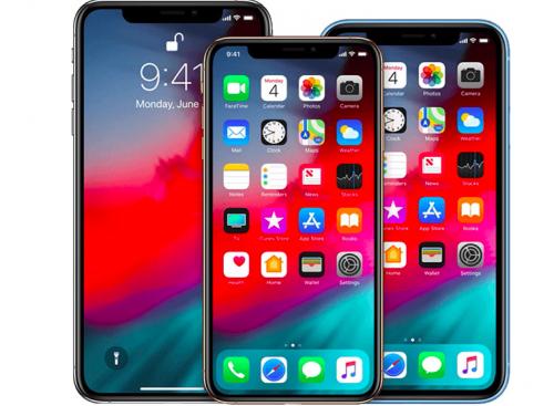 les trois versions d'iPhone prévu en 2019