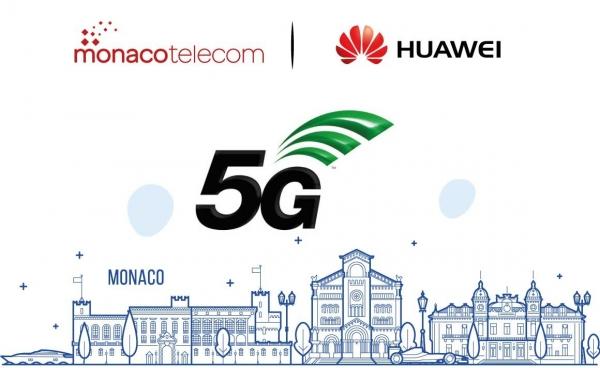 Huawei déploie la 5G à Monaco.