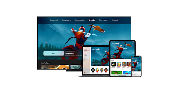 Apple Arcade service streaming jeux vidéo