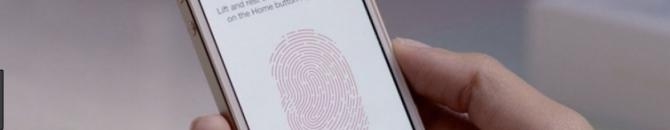 Des rumeurs évoquent un nouveau Touch ID pour 2020
