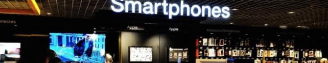 La chute du marché américain des smartphones