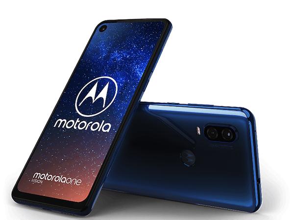 Le design probable du Motorola One Vision , smartphone avec Android One