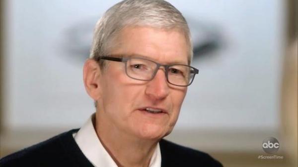 Tim Cook, CEO d'Apple, veut que le temps passé sur ses iPhone diminue